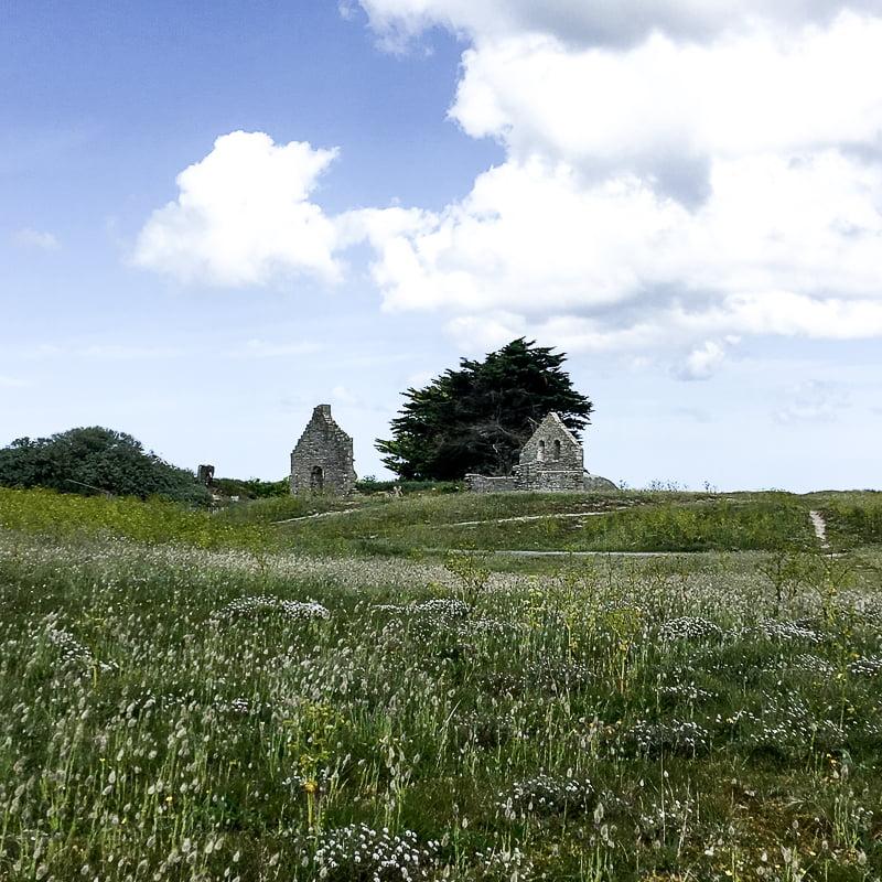 Chapel Saint-Anne, Ile de Batz, Brittany, France