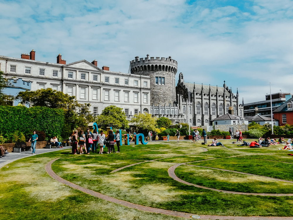 Dublin Castle, Ireland, one of the top places to visit in Dublin