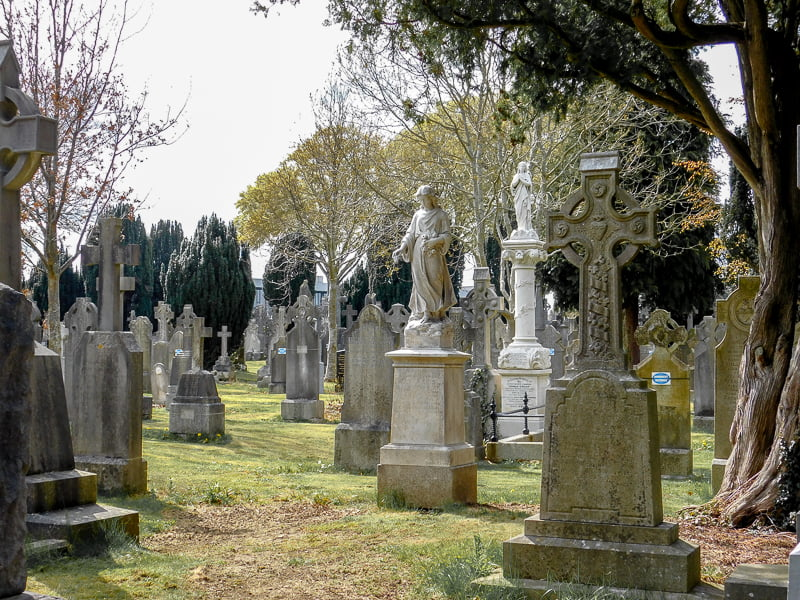 Glasnevin Cemetery, among top things to do in Dublin, Ireland