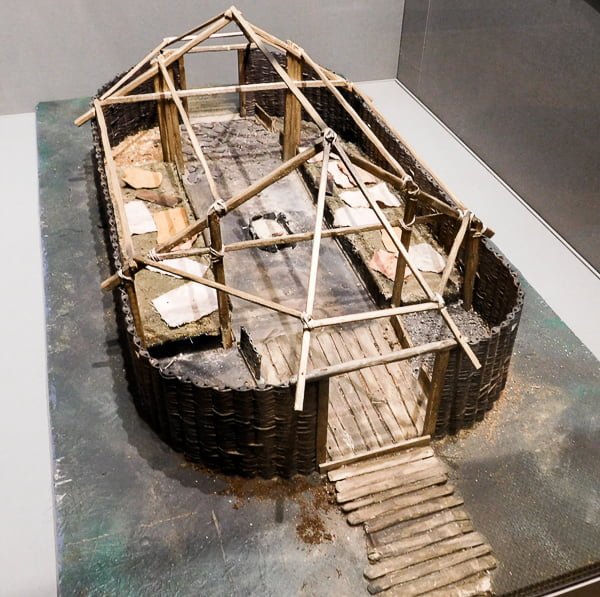Viking Hut, National Museum of Archeology, Dublin