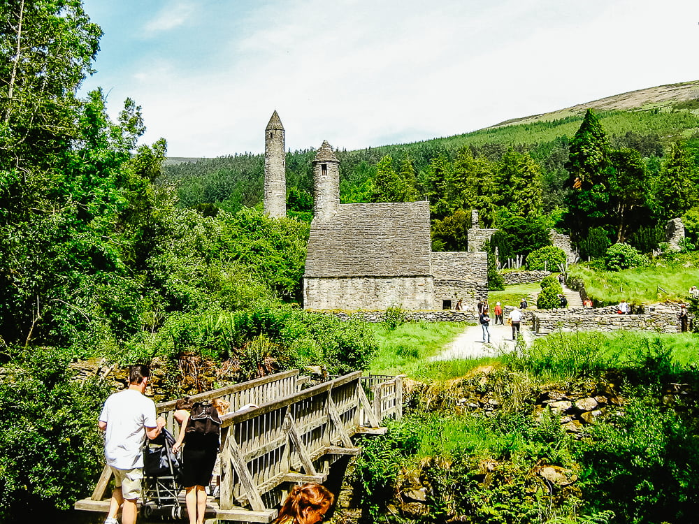 Glendalough, Co. Wicklow, is a great place to visit around Dublin