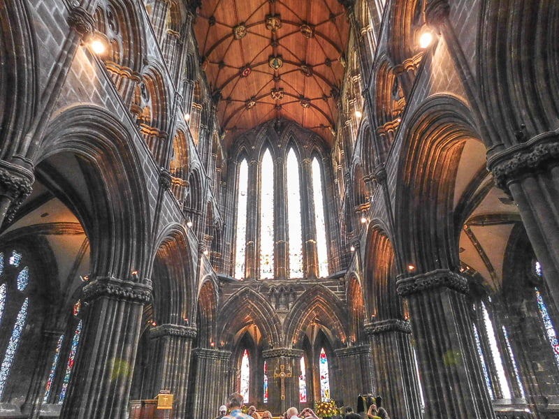 Visit Glasgow Cathedral, Scotland, for free. A great thing to do in Glasgow.