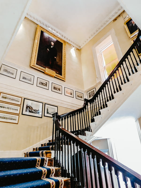Staircase in the Bishop's Palace, Waterford