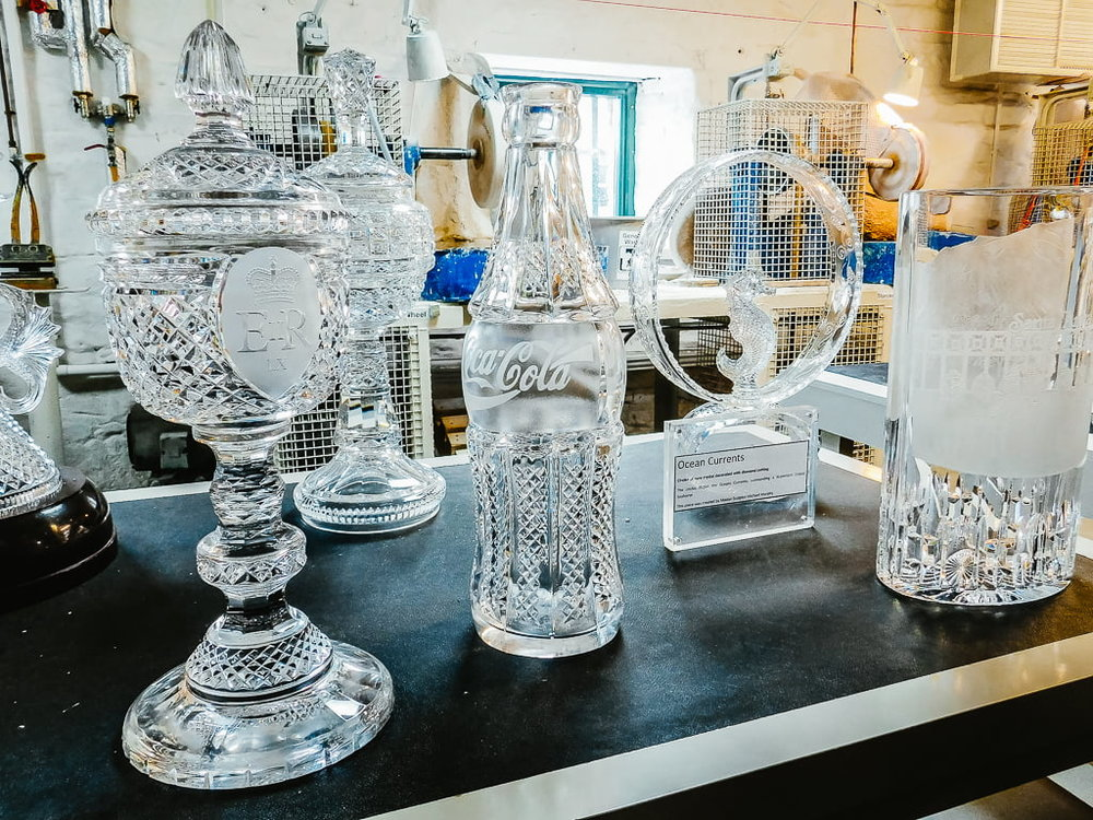 Awards made of Waterford Crystal, created in Waterford, Ireland
