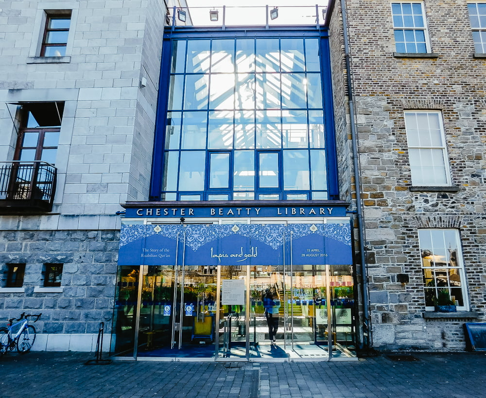 Chester Beatty Library, one of Dublin's most amazing libraries to discover