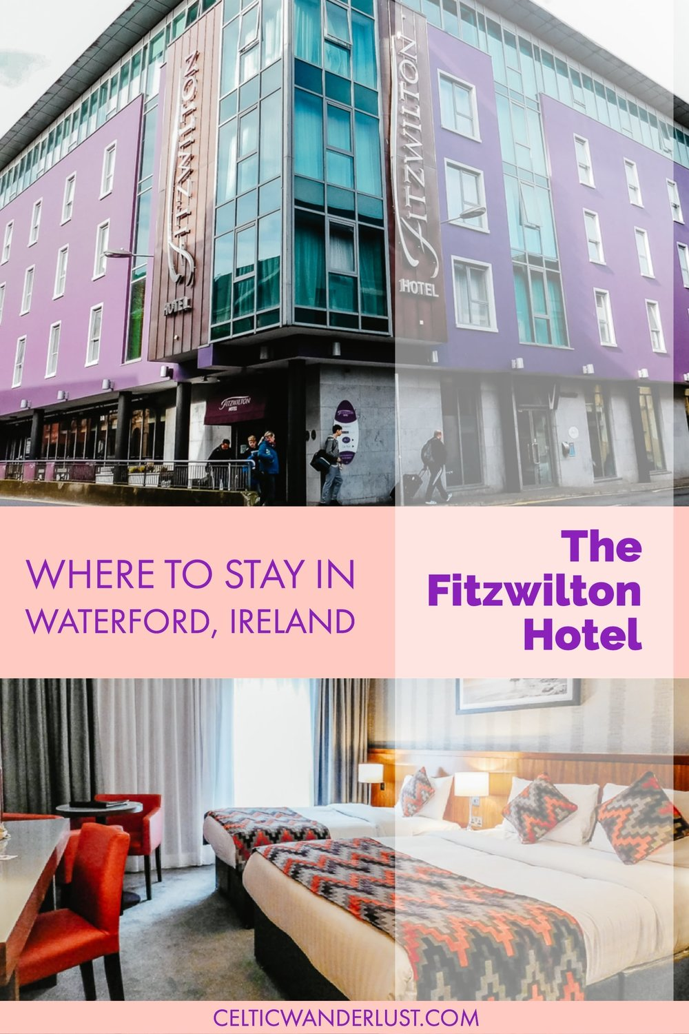 Where to Stay In Waterford, Ireland - The Fitzwilton Hotel in Waterford City