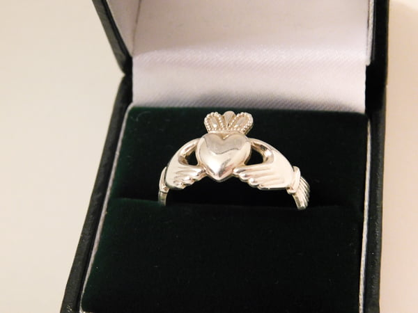 An Authentic Claddagh Ring