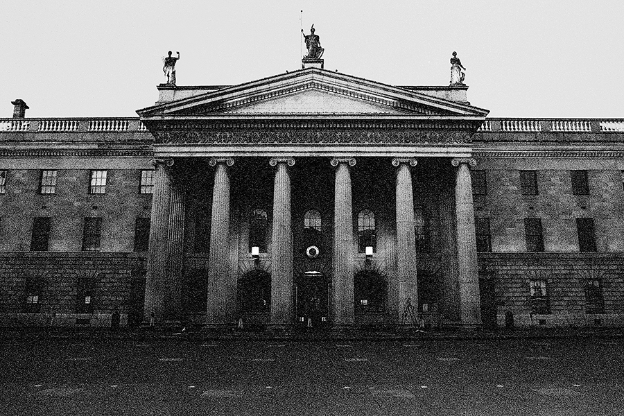 The GPO, Dublin, Ireland. Photo by Artist Photographer Simon Prunty
