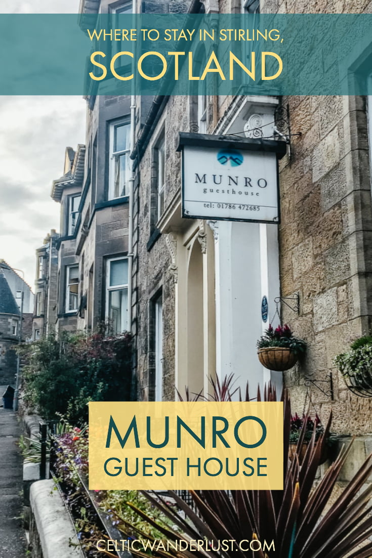 Where to stay in Stirling, Scotland - Munro Guest House