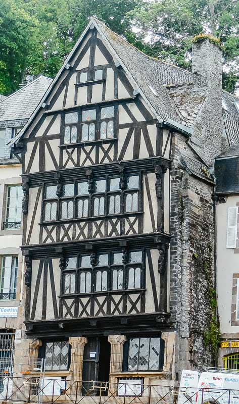 Duchess Anne's House, architectural treasure of the Bay of Morlaix, France