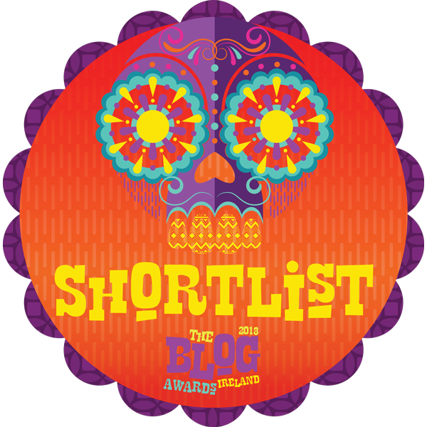 Shortlisted for the 2018 Blog Awards Ireland
