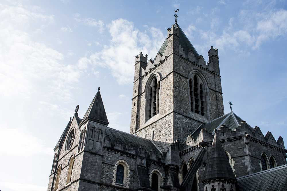 Stop by Christ Church Cathedral During Your Self-Guided Walking Tour of Dublin, Ireland