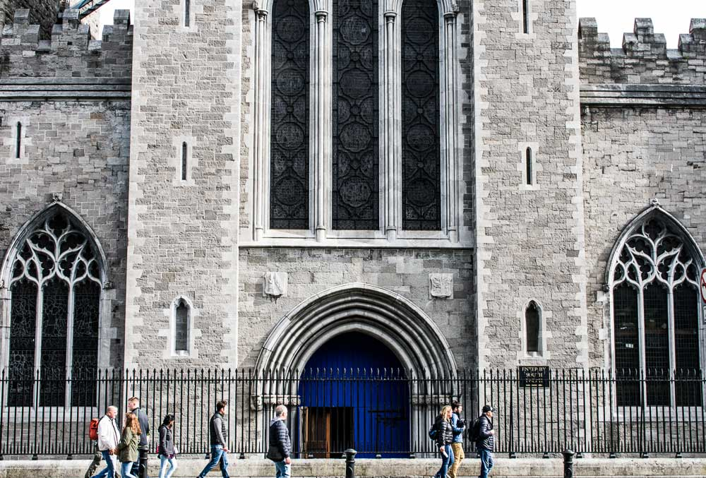 Saint Patrick's Cathedral in Dublin, Ireland