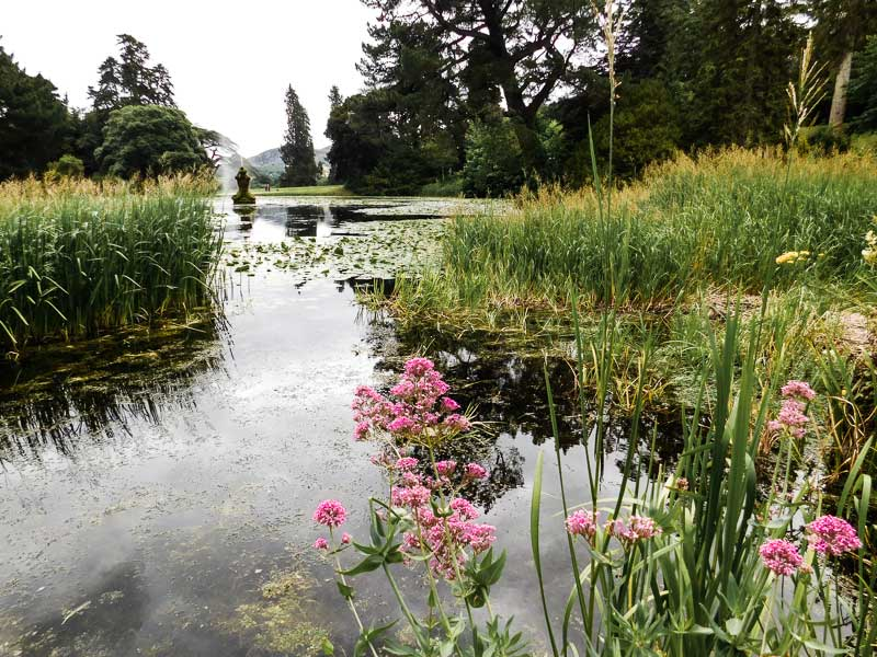 Powerscourt Gardens, a beautiful place to visit near Dublin, Ireland