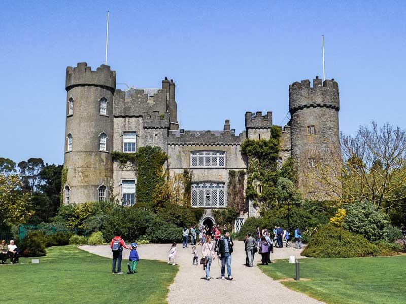 Malahide Castle, a gorgeous place to visit near Dublin, Ireland