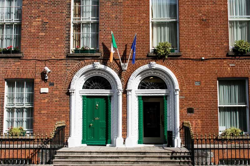 Admirer l'architecture de l'époque georgienne de Dublin