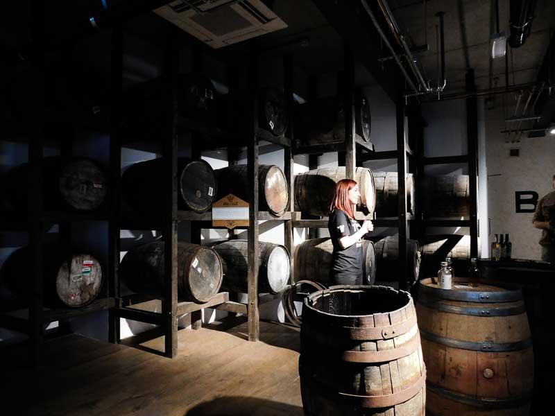 Visite guidée de la Distillerie Teeling à Dublin