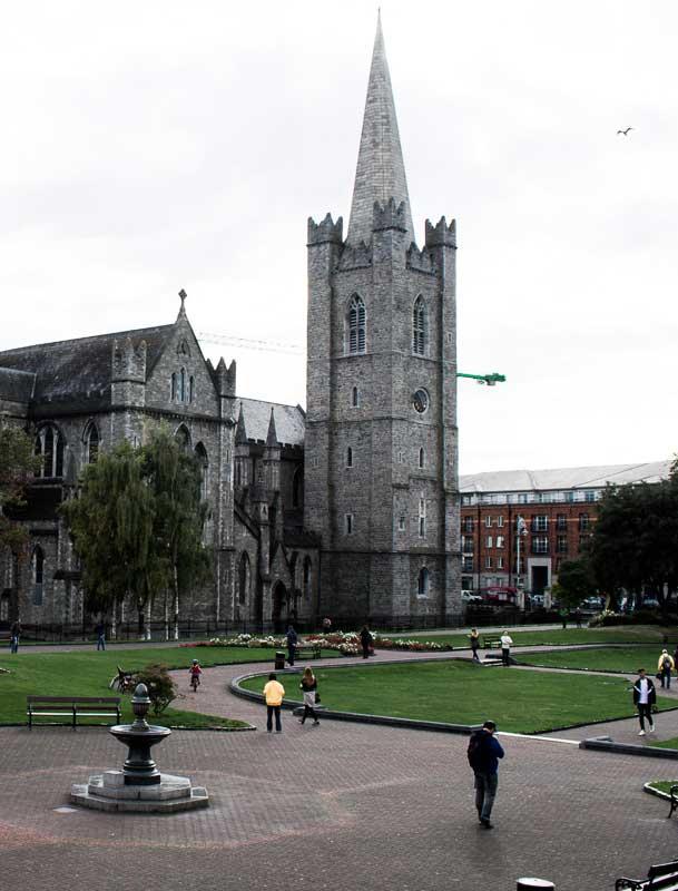 Cathédrale St Patrick à Dublin, Irlande