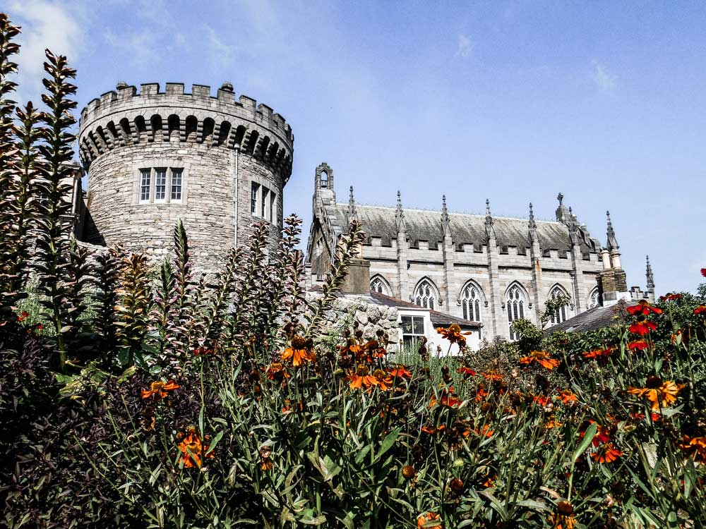 Le Château de Dublin en Irlande