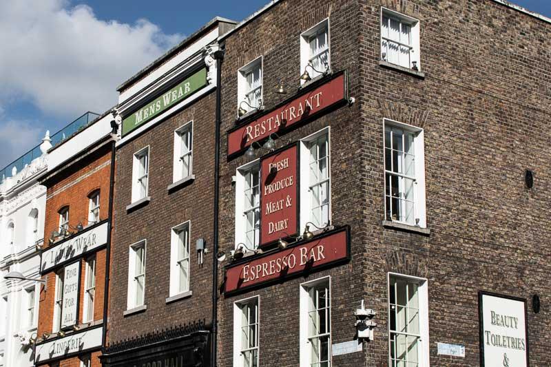 Grafton Street, rue commerçante de Dublin