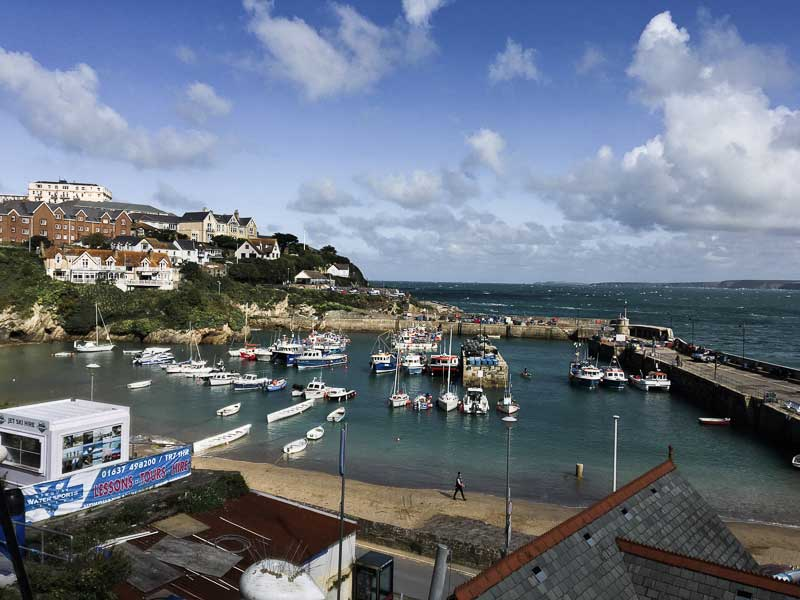 Old Harbour, Newquay, Cornwall