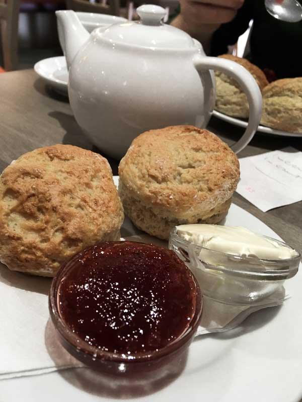 Cornish Cream Tea in Newquay, Cornwall