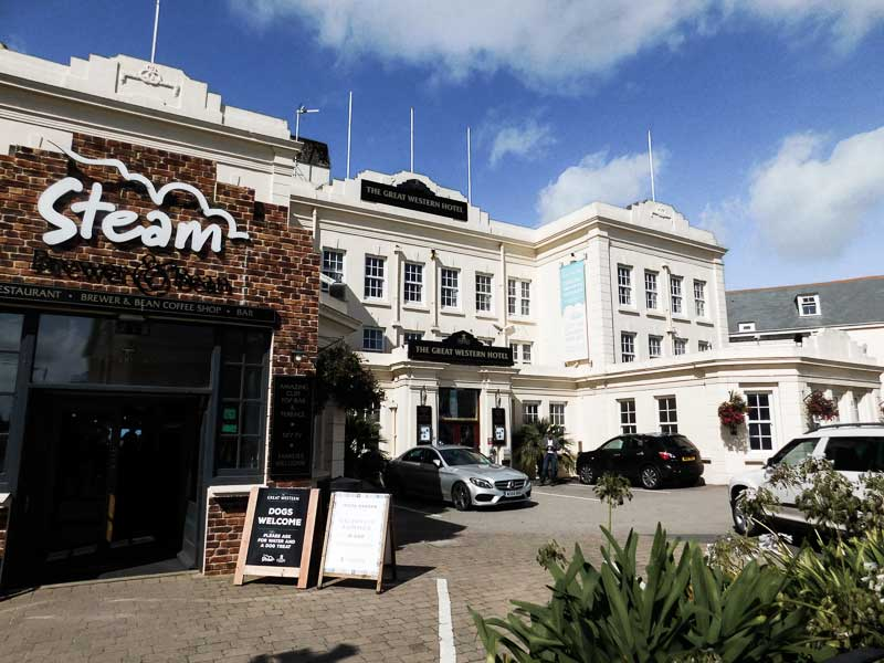 Great Western Hotel, affordable accommodation in Newquay, Cornwall