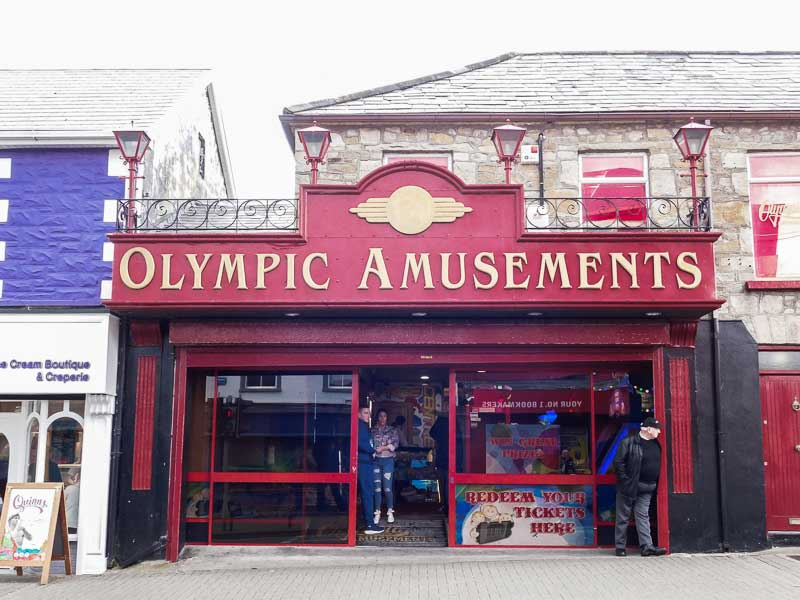 Amusement Centre in Bundoran, Ireland