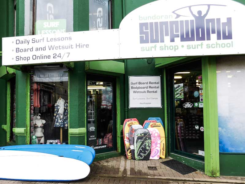 Surf Shop in Bundoran, Ireland