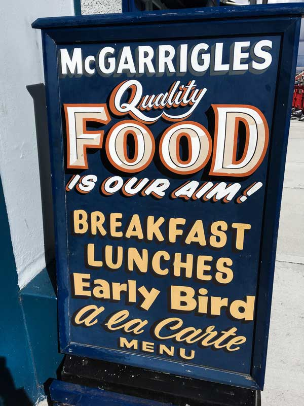 McGarrigles Restaurant in Bundoran, Ireland