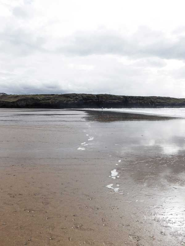 Beach at Tullan Strand, Bundoran, Ireland