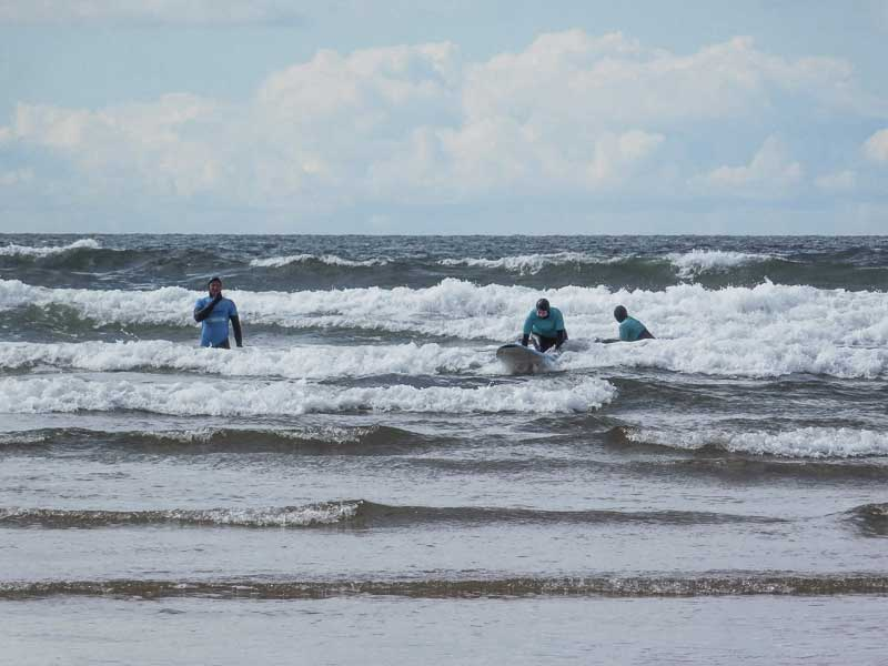 Surf Lesson, Tullan Strand, Bundoran, Ireland