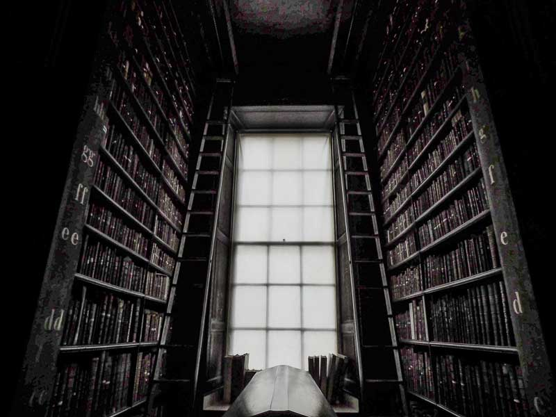 Trinity College Old Library in Dublin, Ireland