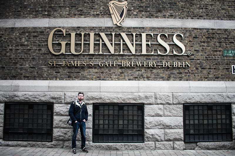 Guinness Brewery at St James's Gate, Dublin, Ireland