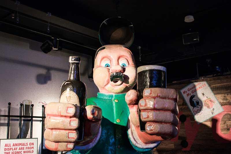 Guinness Advertising at the Guinness Storehouse, Dublin, Ireland