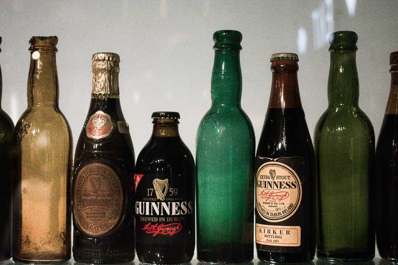 Bottles of Guinness, Guinness Factory, Dublin, Ireland