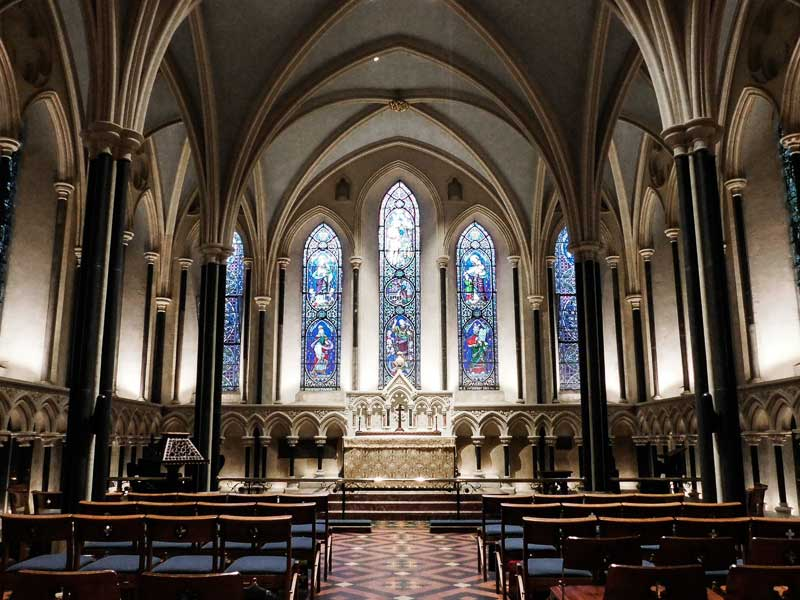 Lady Chapel, St Patrick's Cathedral, Dublin, Ireland