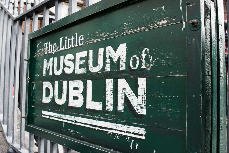 The Little Museum of Dublin, St Stephen's Green, Dublin, Ireland