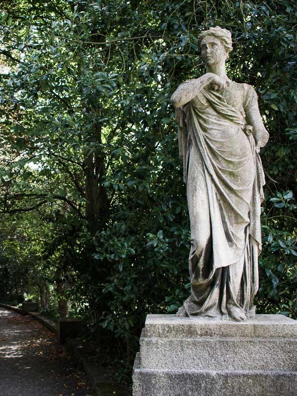 Statue, Iveagh Gardens, Dublin, Ireland