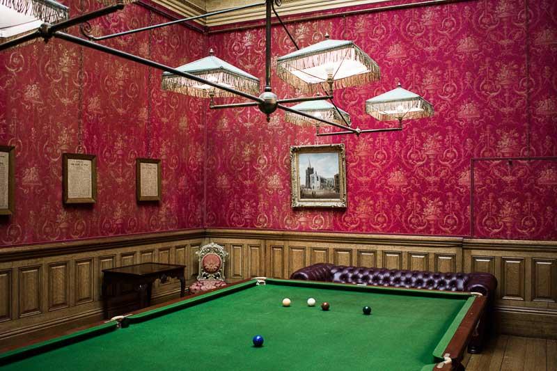 Billiard Room, Farmleigh House, Dublin, Ireland