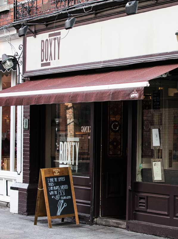 The Boxty House, Restaurant in Temple Bar, Dublin, Ireland