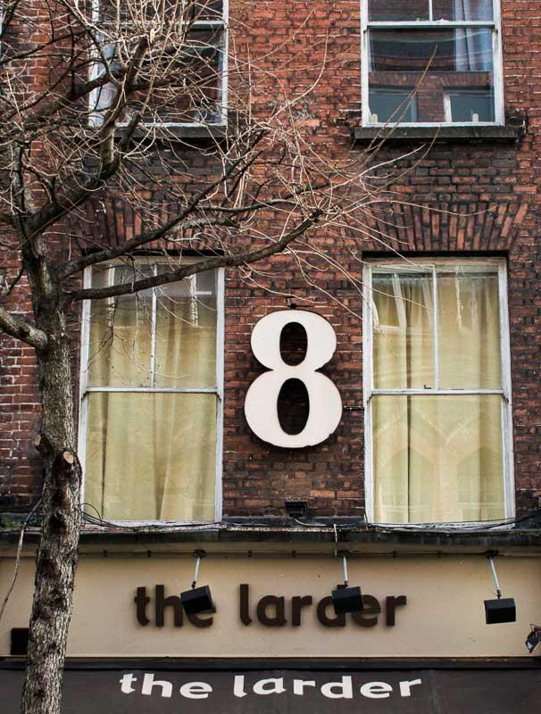 The Larder, Restaurant in Temple Bar, Dublin, Ireland
