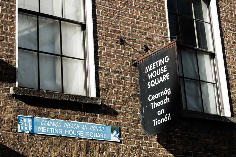Meeting House Square, Temple Bar, Dublin