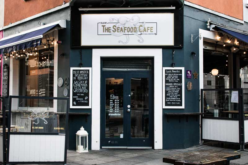Klaw, award-winning Seafood Restaurant in Temple Bar, Dublin