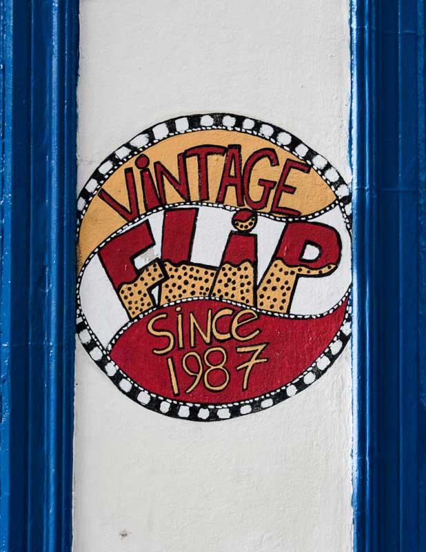 Flip, Vintage Clothing Store in Temple Bar, Dublin