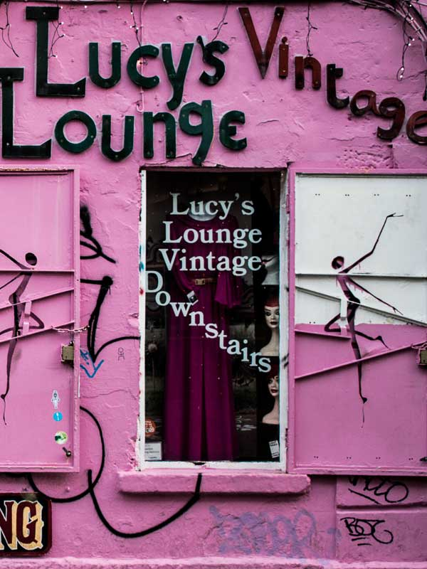 Vintage Clothing Store in Temple Bar, Dublin
