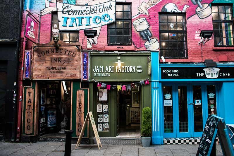 Jam Art Factory, a place to buy beautiful prints in Temple Bar, Dublin, Ireland