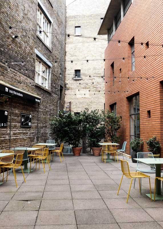 Irish Film Institute's Cafe, Temple Bar, Dublin