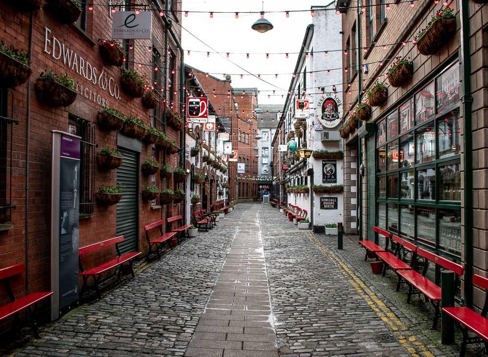 Cathedral Quarter, Belfast, Northern Ireland