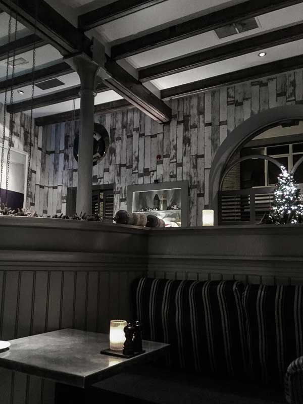Dining at the Malmaison Hotel, Belfast